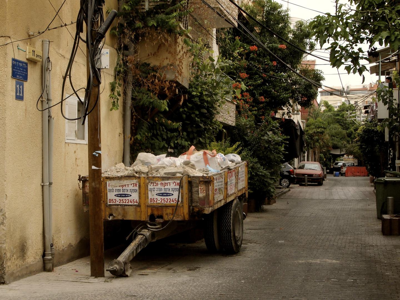 Straße in Tel Aviv