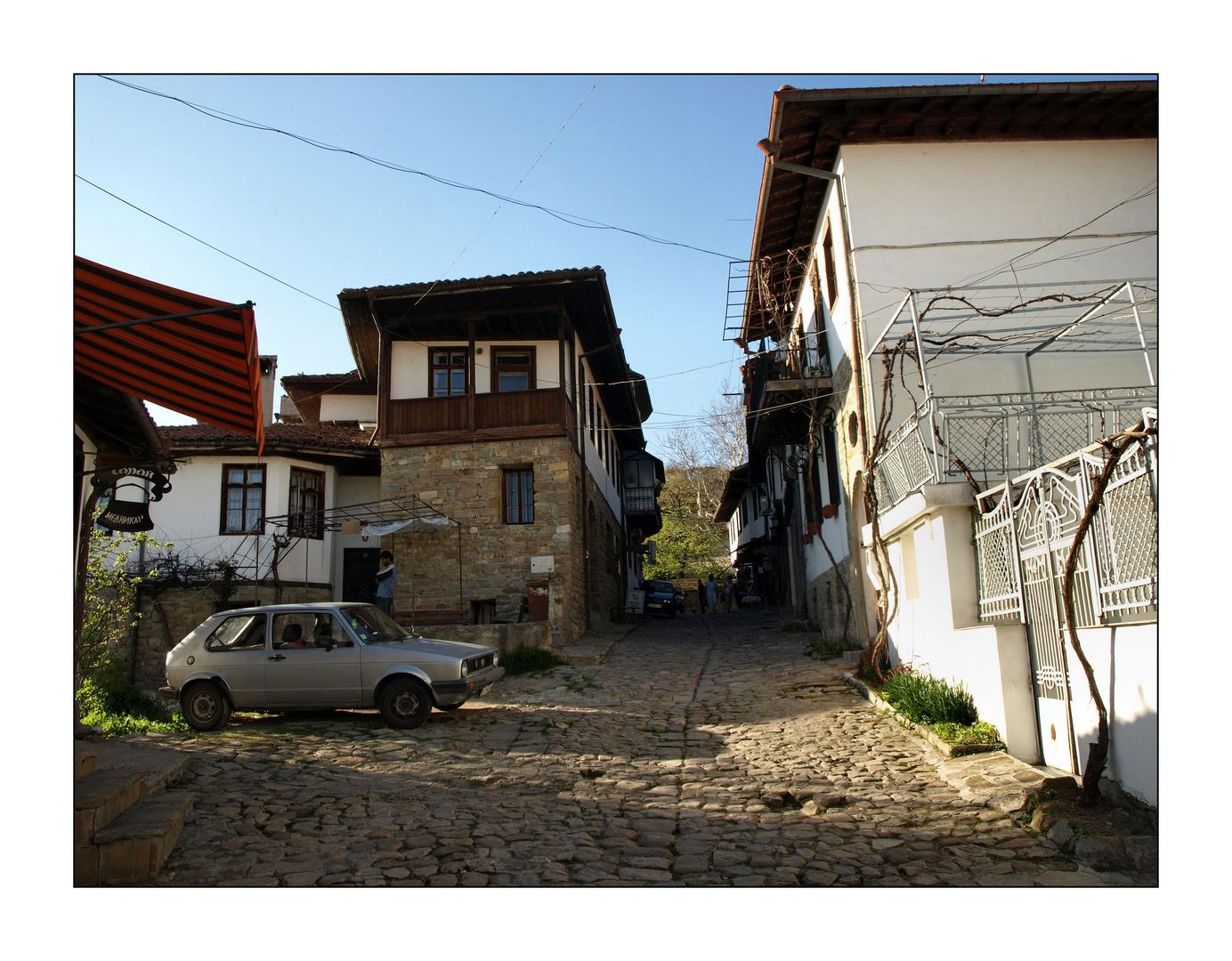 Straße in Veliko Tarnovo
