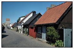 Strasse in Visby / Gotland
