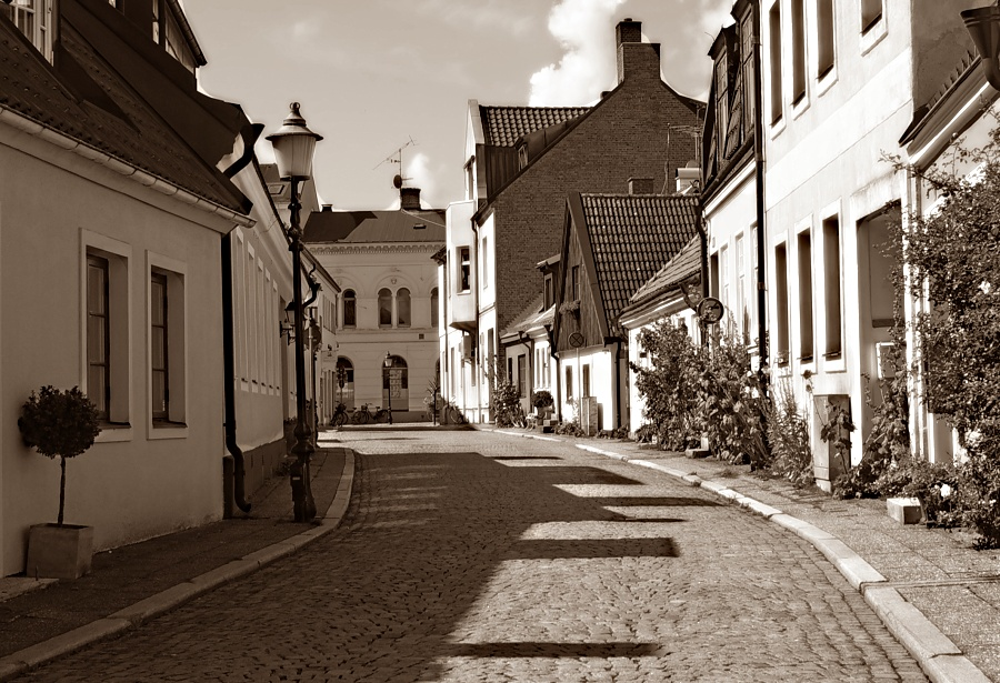 Strasse in Ystad