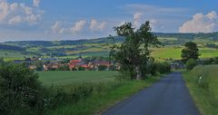 Straße nach Helmershausen (carretera a Helmershausen)