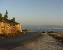Strasse nach Loutraki GR