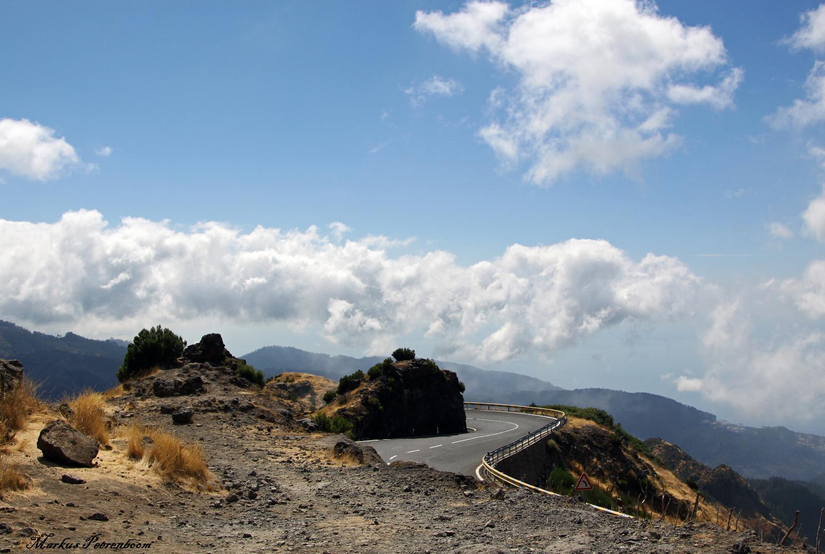 Straße nach Paul da Sierra