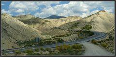 Strasse und Landschaft 1
