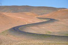 Strasse zum Namjafjall