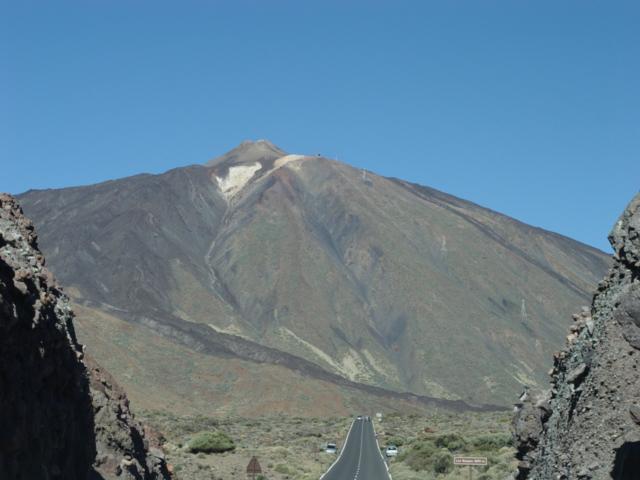 Straße zum Teide, Teneriffa