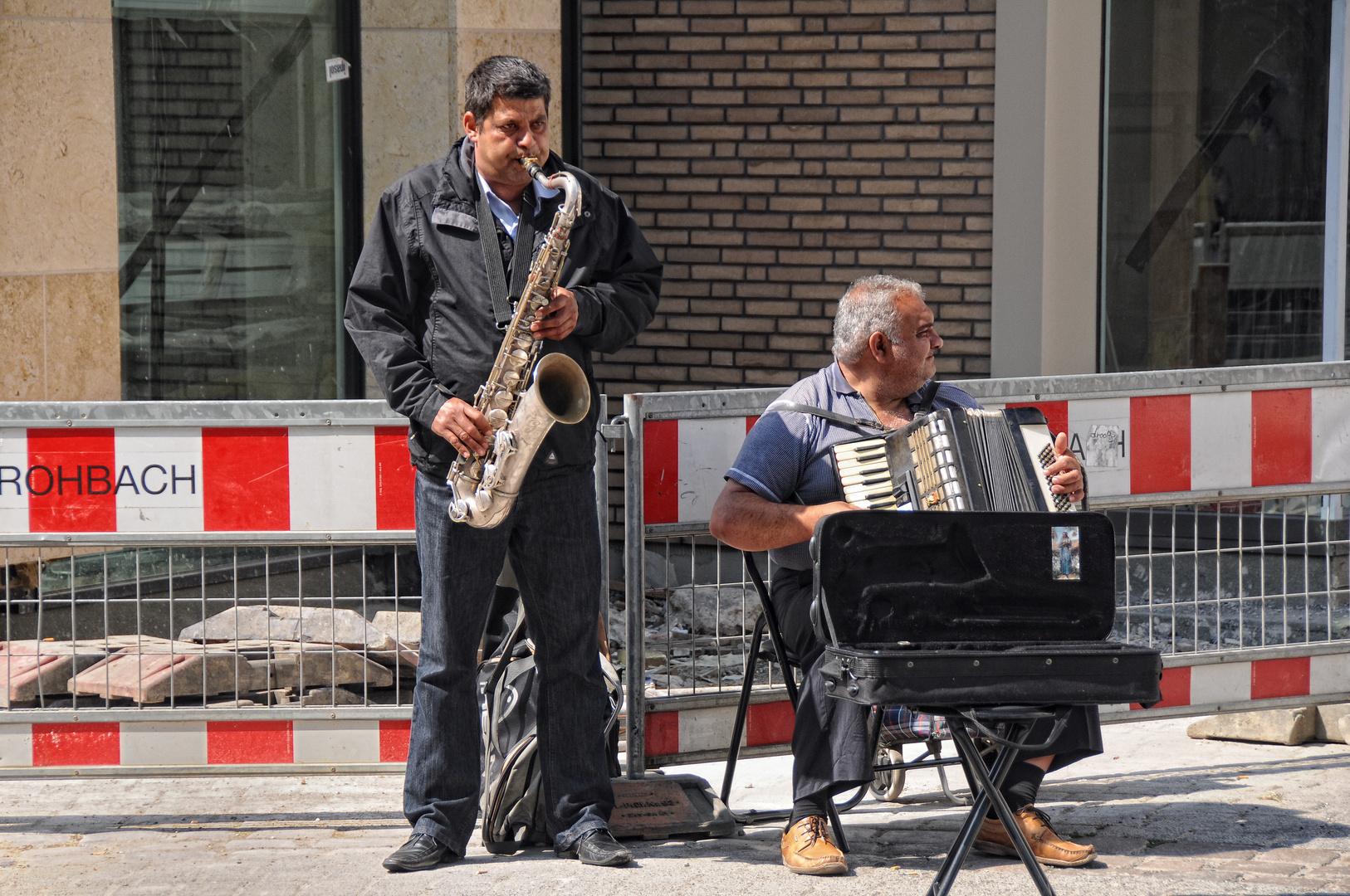 Straßen-Musikanten