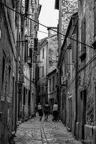 Straßen von Rovinj