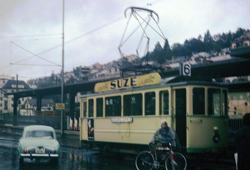 Straßenbahn 1963