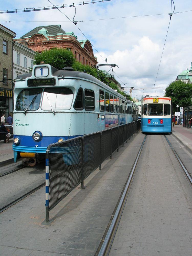 Strassenbahn (alt & neu) in Göteborg