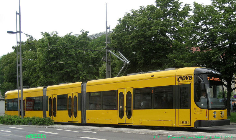 Strassenbahn Dresden