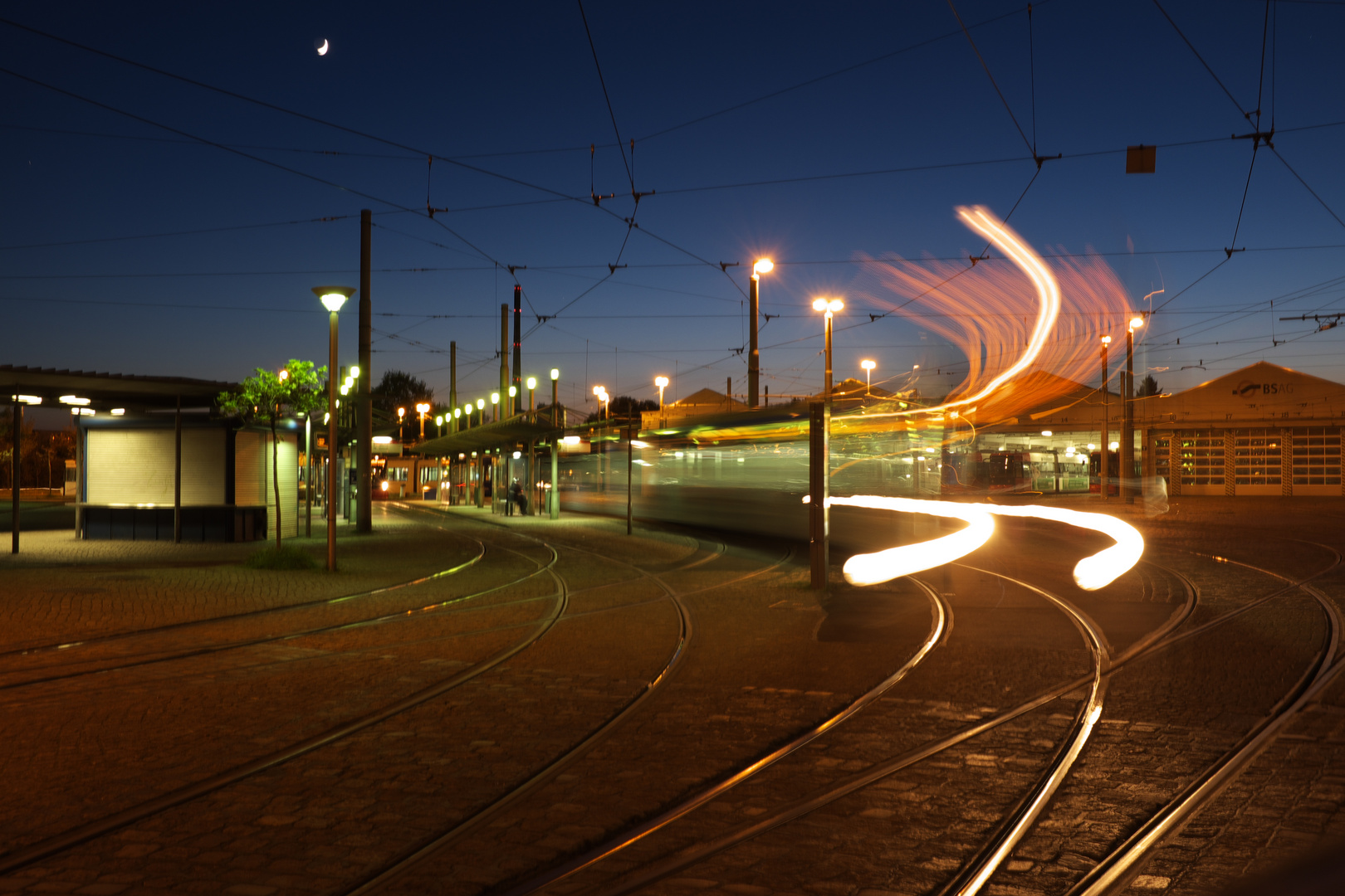 Strassenbahn III / Depot Gröpelingen