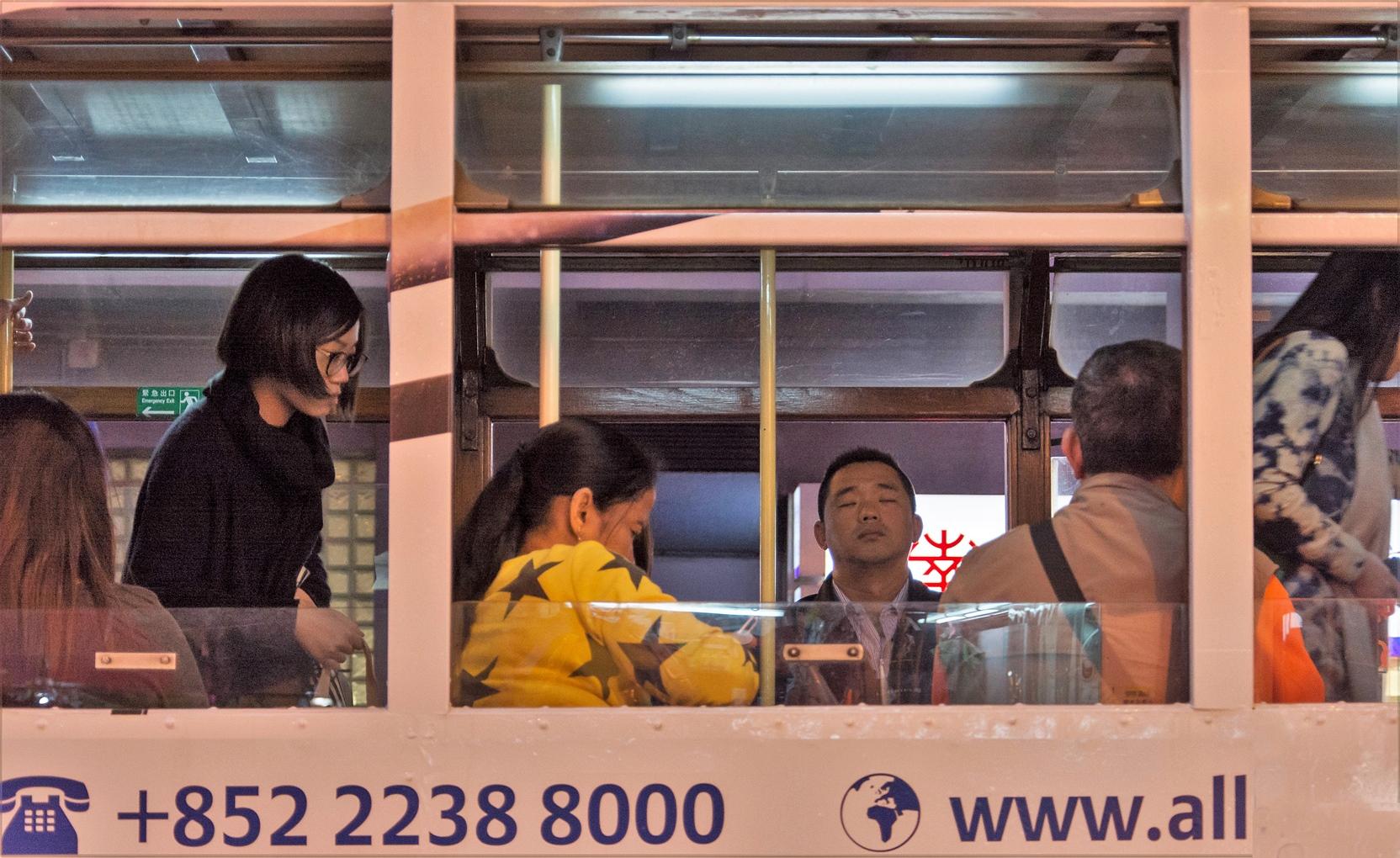 Straßenbahn in Hongkong