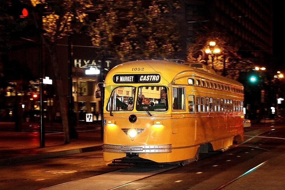 Straßenbahn in San Francisco - PCC car 1052