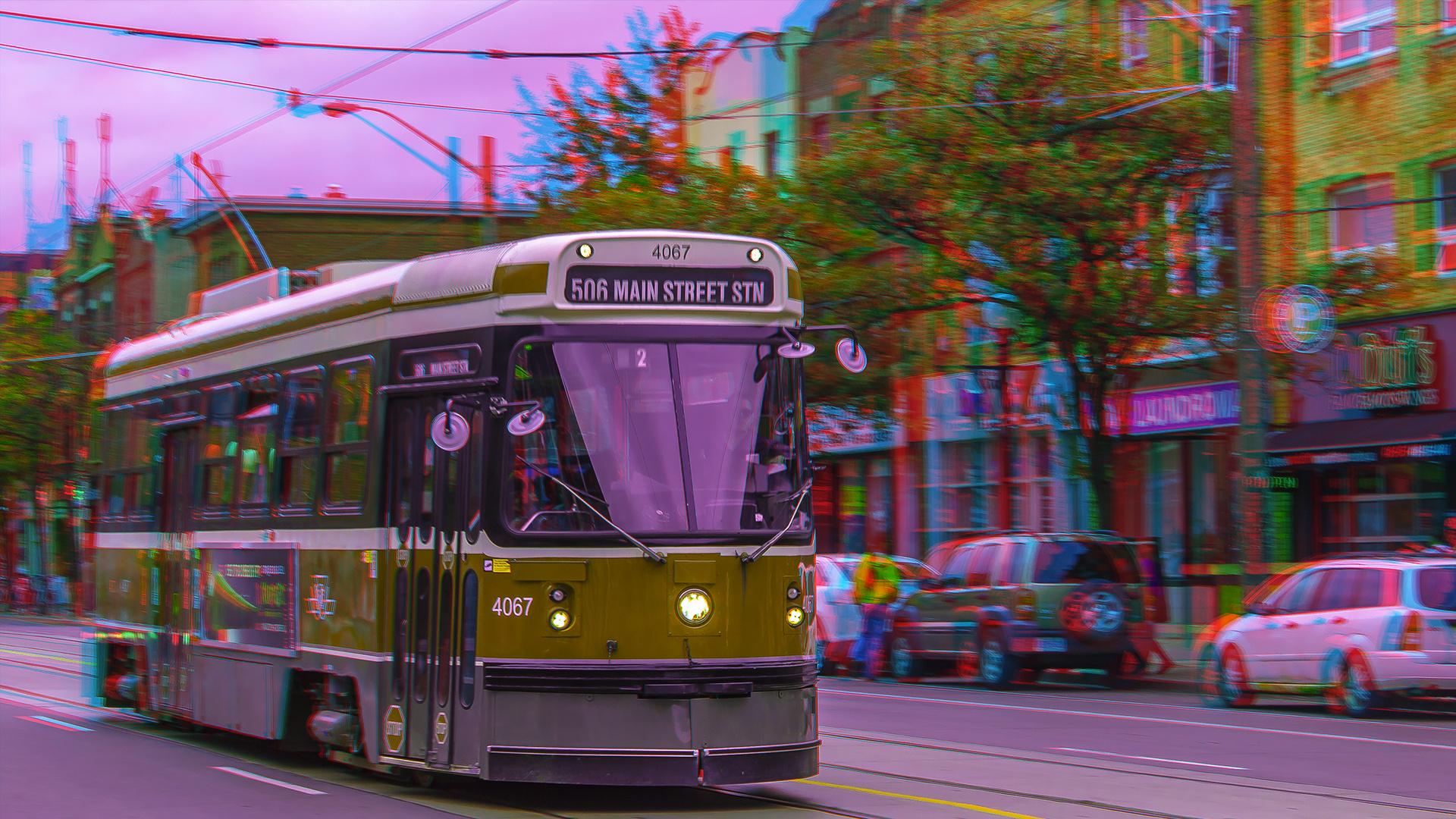 Straßenbahn in Toronto 3-D