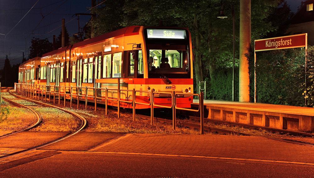 Straßenbahn 4 Köln