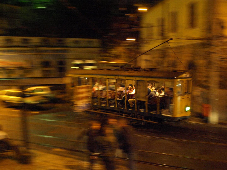 Strassenbahn Santa Teresa - na praca
