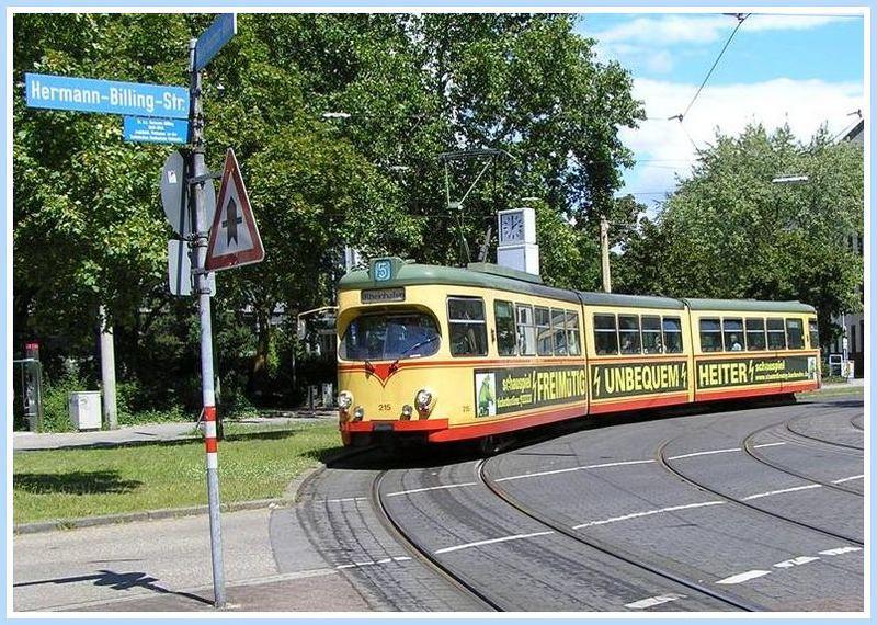 Straßenbahnen Karlsruhe