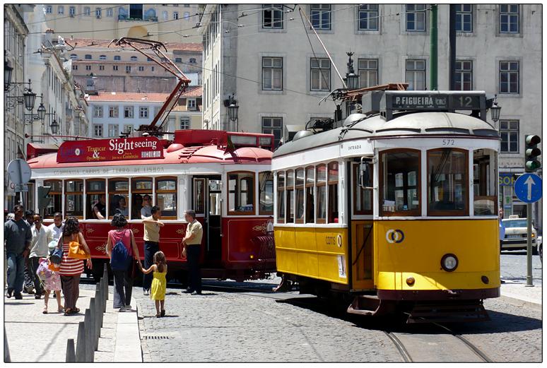 Straßenbahnen in Lissabon