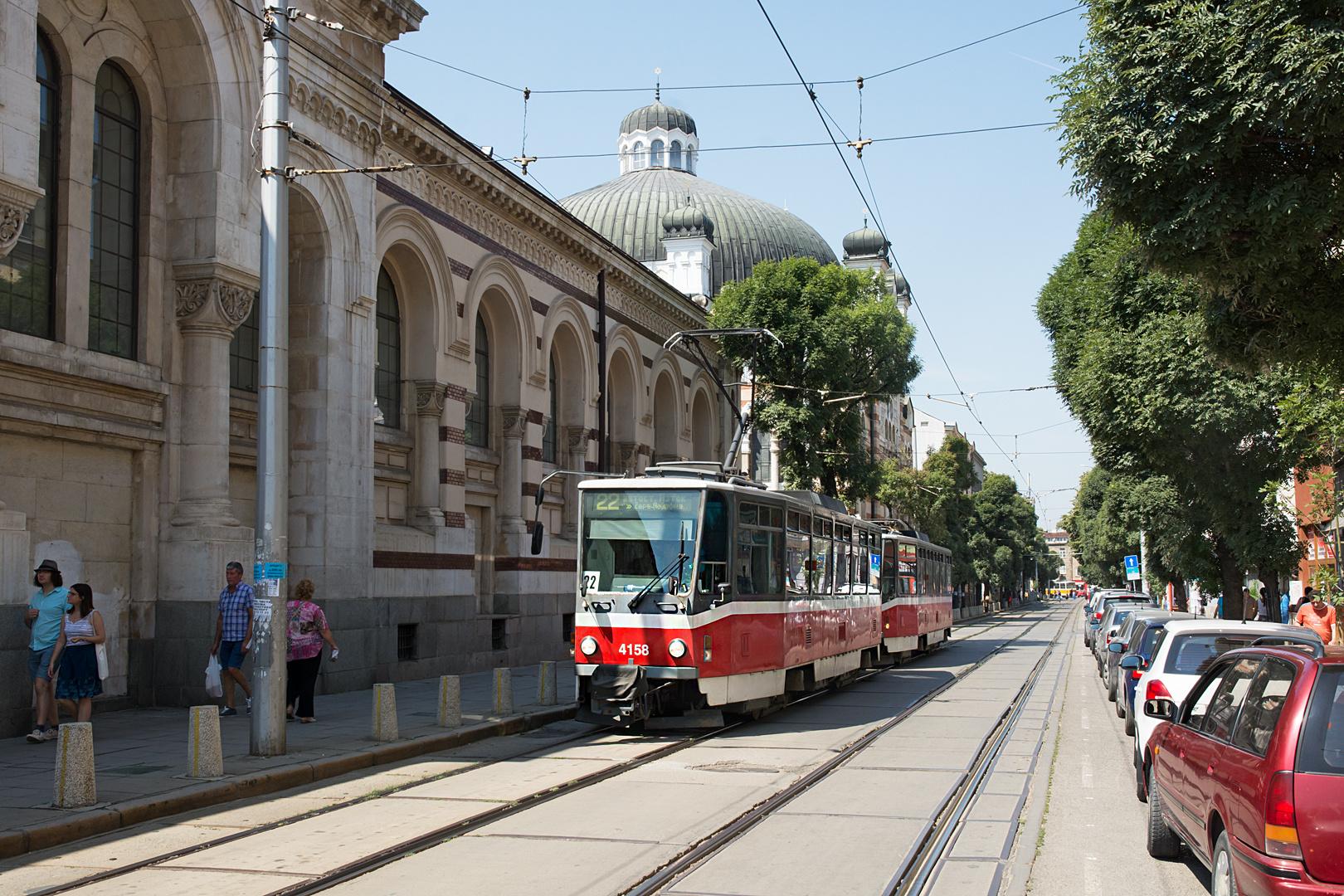 Straßenbahnen in Sofia VIII
