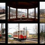 Straßenbahnen von anno Dazumal