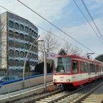 Straßenbahnhalt in Bonn 1