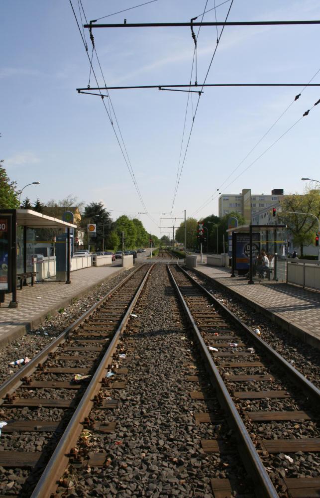 Strassenbahnhaltestelle