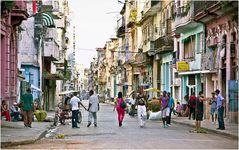Straßenbild in Havanna