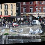 Straßencafé-Flair ...