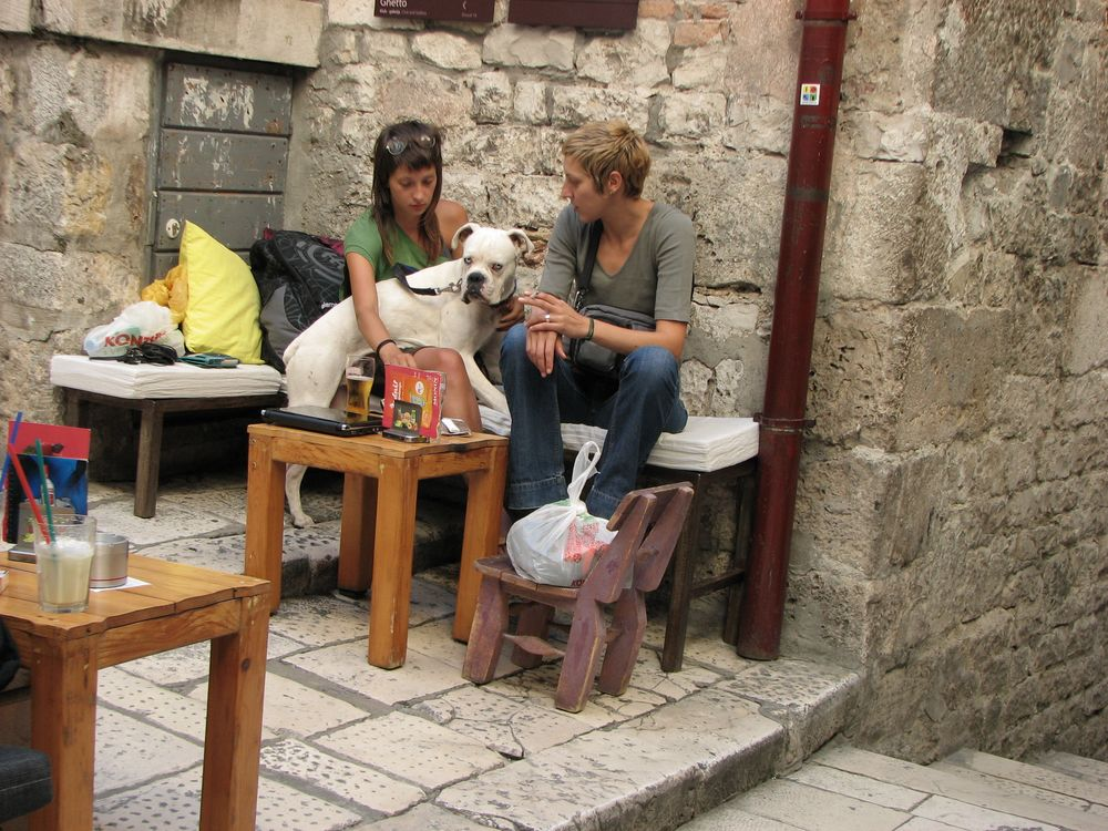 Straßencafé in Split 2