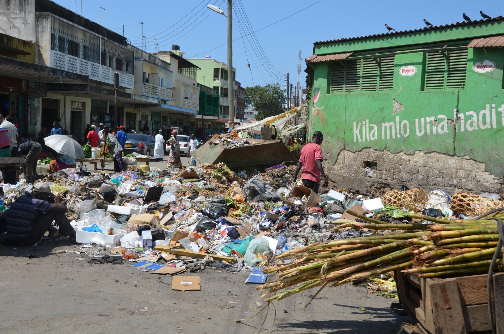 Straßenecke in Mombasa