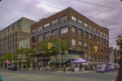 Straßenecke, Little Italy / Toronto Anaglyph 3-D