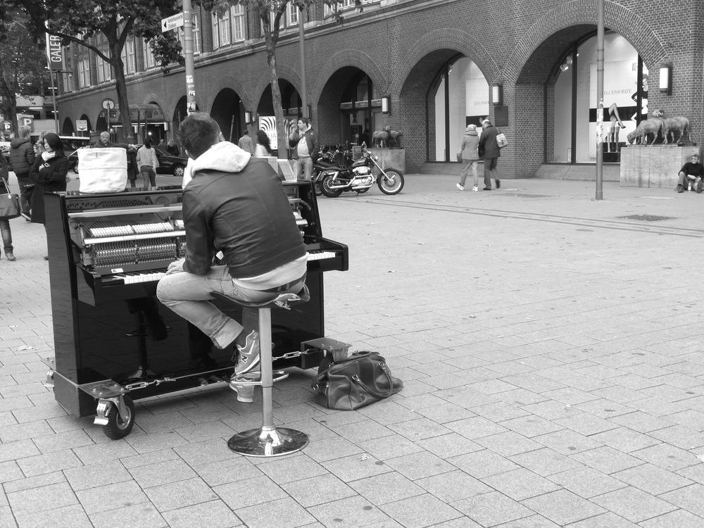 Straßenkonzert