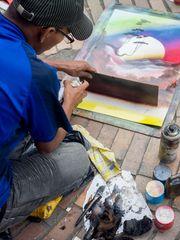 Straßenkünstler Bogotas 3