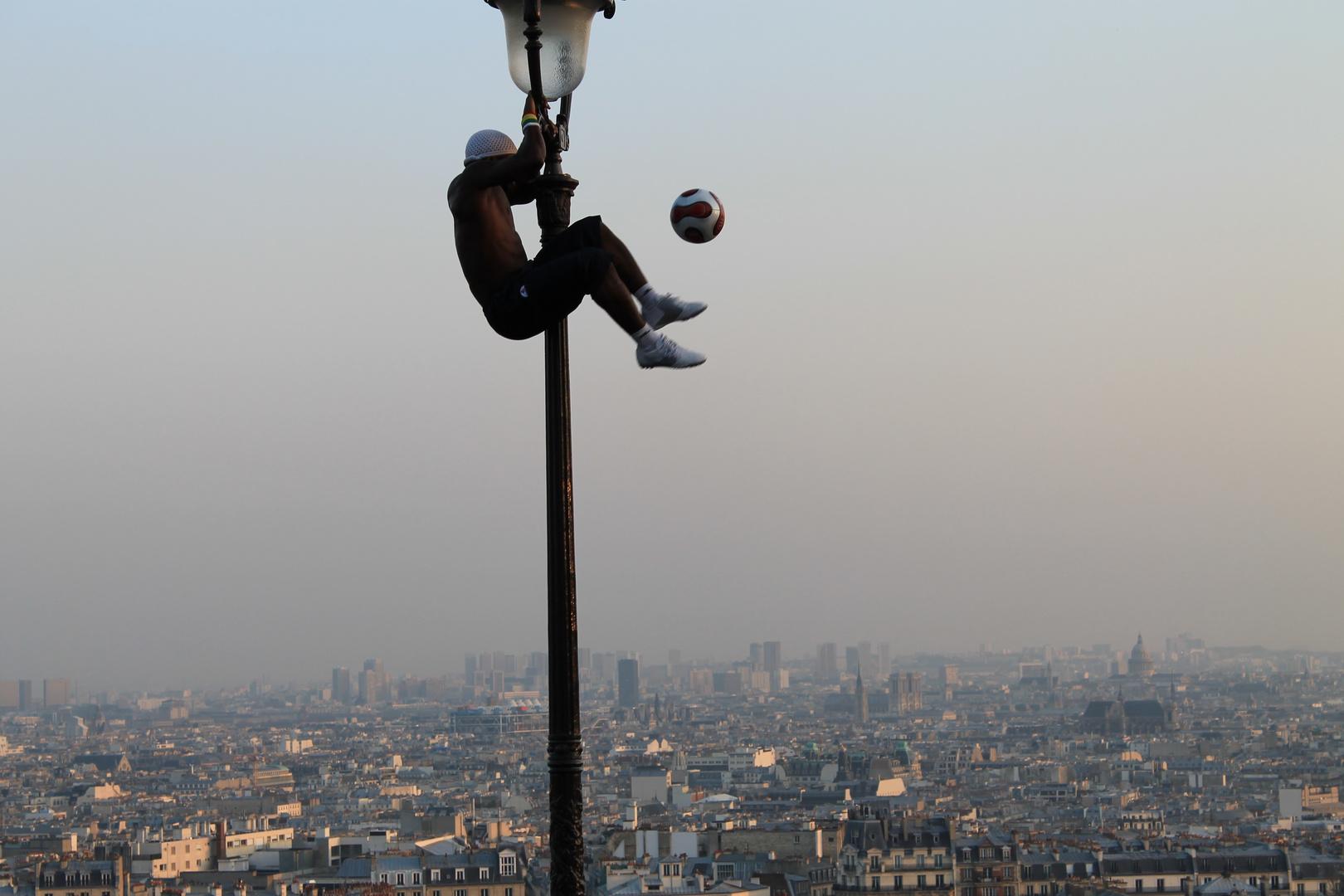 Straßenkünstler in Paris