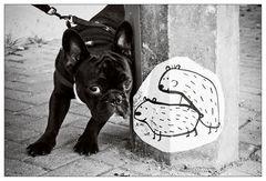 Straßenkunst ...