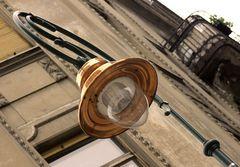 Straßenlaterne in Budapest