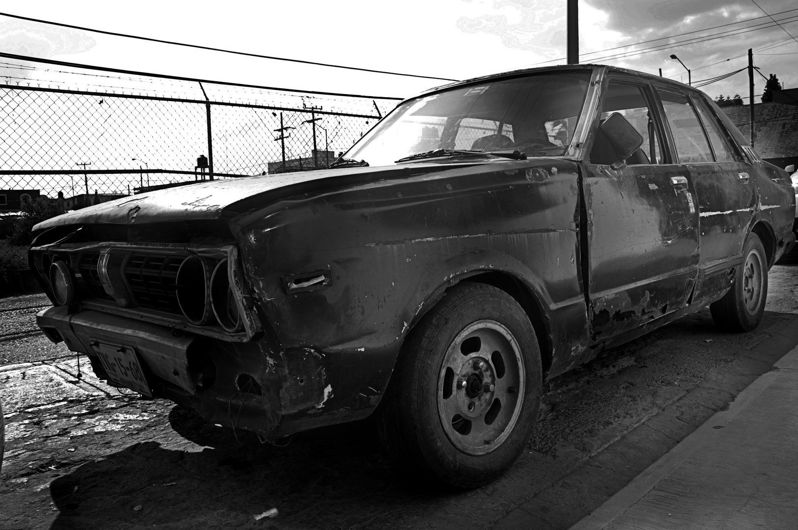 Straßenleben in Mexiko