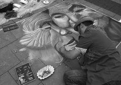 Straßenmaler in Geldern
