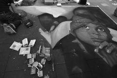Straßenmaler in Geldern II