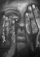 Straßenmalerei in Geldern