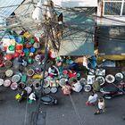 Straßenmarkt Hanoi