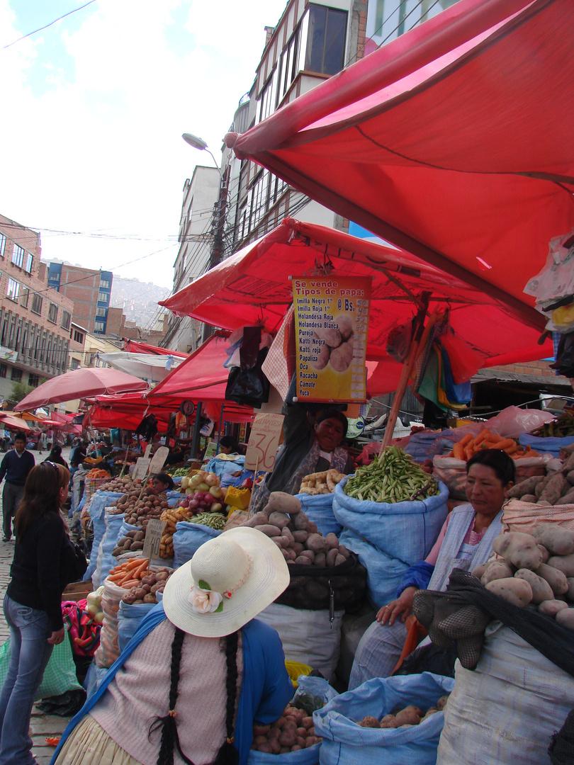 Strassenmarkt La Paz