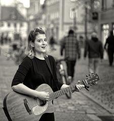 ... Straßenmusik ...