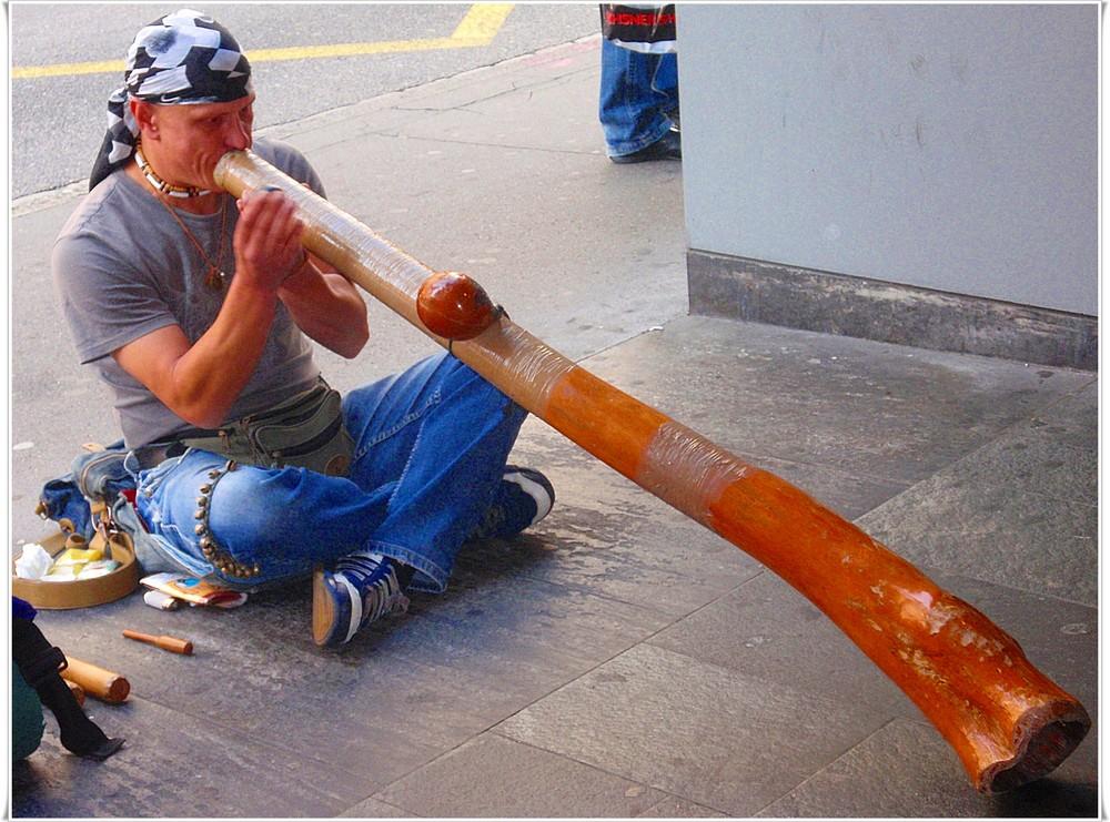 Strassenmusikant - Didgeridoo