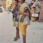 Straßenmusikanten In Kathmandu Nepal