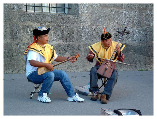 Strassenmusikanten in Salzburg