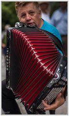 Straßenmusiker auf dem Nürnberger Bardentreffen