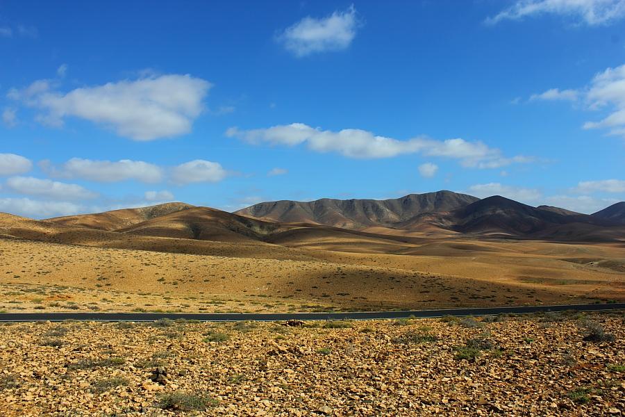 Strassenpanorama - Fuerteventura