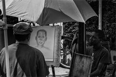 Straßenportrait